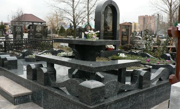 Мемориальный гранитный комплекс