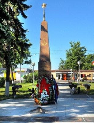 Мемориальный комплекс Вечный огонь в Бронницах