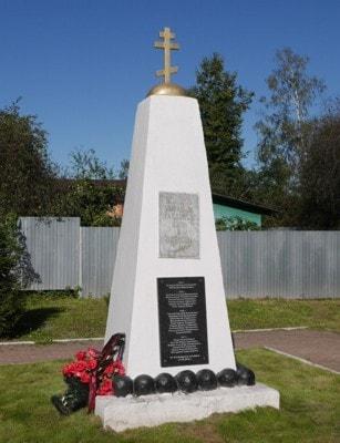 Памятник павшим воинам в Бронницах