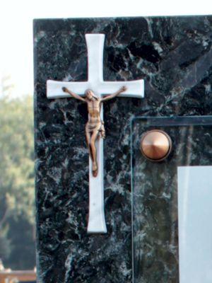 Бронзовый крест с распятием