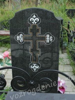 Фото гравировки креста на памятнике