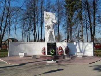 Мемориал героям Великой Отечественной войны в Сквере Победе