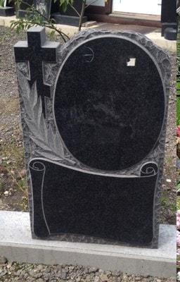 недорогой вертикальный памятник на могилу