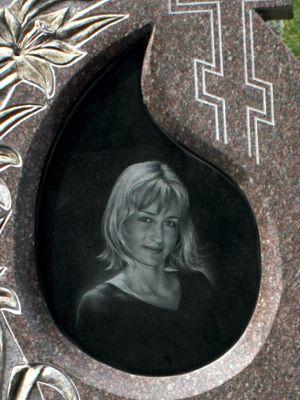 Оформление женского памятника