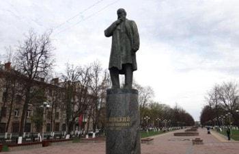 Памятник Жуковскому