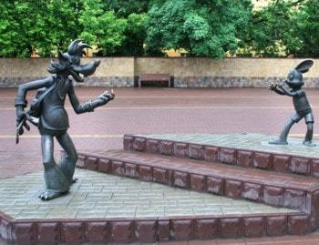 Памятник Ну погоди