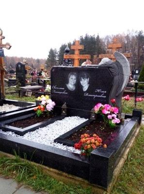 Семейное горизонтальное надгробие