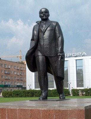 Памятник Ленину. Щёлково