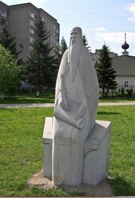 скульптура Летописец Нестор