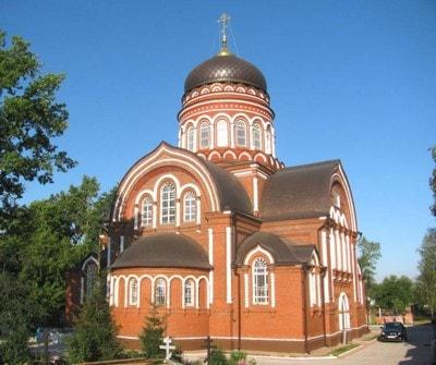 Вознесенская церковь в Городково